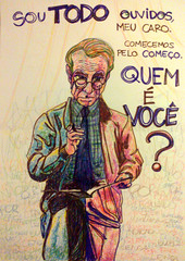Quem  voc? (nobusao) Tags: pen drawing therapy psicologo hidrocor canetinha lapisdecor