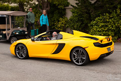 McLaren 12C Spider (davidbushphoto.com) Tags: beach spider monterey d pebble mclaren concours 2012 elegance mp412c