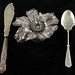 1049. (3) Sterling & Silver Plate Items