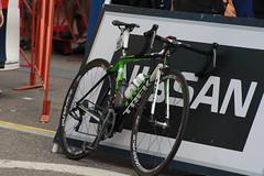 a Trek bike waiting for its rider (f l a m i n g o) Tags: camera bike digital race canon eos rebel golden colorado stage6 procyclingchallenge