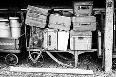 Travel Trunks (gwpics) Tags: railroad travel england holiday heritage history train unitedkingdom transport railway historic luggage trunk british leisure preserved oxfordshire