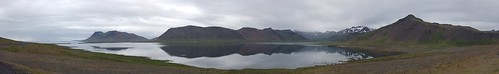 Lake in Snaefellsnes Panorama