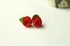 Origami Rose Stud Earrings
