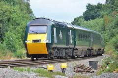 43041 'Meningitis Trust Support for Life' (stavioni) Tags: gwr great western railway fgw first hst high speed train inter city intercity 125 power car green 43041 class43 diesel
