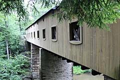 Windsor Mills Covered Bridge (AZ Ashman 88) Tags: windsormillscoveredbridge windsortownshipoh ashtabulacounty amishcountry ohio