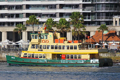 Sirius, Circular Quay, Sydney, September 10th 2014 (Suburban_Jogger) Tags: sirius firstfleetclass sydneyferries ferry boat ship sydneyharbour circularquay sydney newsouthwales australia september 2014 spring canon 60d sigma 70200mm wharf public transport passenger travel