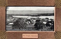 Port Douglas, Qld - very early 1900s (Aussie~mobs) Tags: vintage postcard portdouglas australia queensland view township