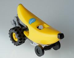 LEGO banana car (aktuaroslo) Tags: lego banana moc car collectableminifigures 71013