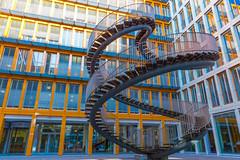 Swirrrrl..... (MyMUCPics) Tags: münchen munich architektur treppen stairs swirl outdoor kpmg architecture geometric geometrisch staircase city stadt deutschland germany
