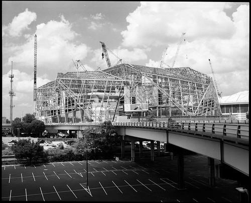 Atlanta Falcons Stadium, Under Construction