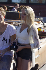 Cute Photographer (Steffe) Tags: blond girl babe cutie photographer sweden haninge handen vegabaren summer grandprixraggarbil2016 subculture raggartrff