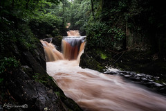 Pecca Falls (Forty-9) Tags: waterfall ingleton 11082016 forty9 2016 ingletonwaterfallstrail tomoskay lightroom efslens canon yorkshire eos60d yorkshiredales lightroommobile efs1022mmf3545usm longexposure 11thaugust2016 august holiday water river peccafalls
