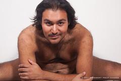 IMG_3513 (DesertHeatImages) Tags: ravyn reyes latino hispanic phoenix cub bear hairy lgbt pitt bare chest jock thong