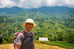Trekking in Sapa, Vietnam (CamelKW) Tags: vietnam2014 trekking sapa vietnam riceterraces