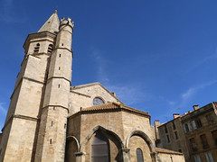 Eglise de la Madeleine, Beziers (Niall Corbet) Tags: france languedoc roussillon herault beziers eglise madeleine church magdalene cathar crusade massacre
