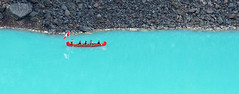 red canoe on Lake Louise (Simple_Sight) Tags: canada alberta lake louise outdoors jaspernationalpark