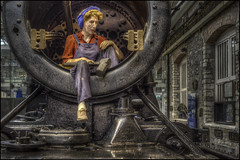 Swindon Steam Museum 14 (Darwinsgift) Tags: swindon steam museum great western railway hdr waxworks photomatix history trains nikon d810 multiple bracketed exposure mannequin