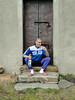 LUP85888484FG84GXF (Evgenij Nikolaev) Tags: lupin4th male model actor hot dude skinny skinhead scally lascar lad slav russian feet socks squatting