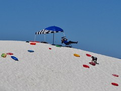 White Sands National Monument (Jasperdo) Tags: whitesandsnationalmonument whitesands newmexico nationalparkservice nationalmonument nps sand dune sledding playing