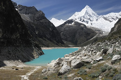 Peru, Cordillera Blanca (Continents insolites) Tags: peru peruvian america andes destination mountain tourist travel cordillerablanca cordillera caraz huaraz adventure alpine background beautiful blue calm cordilleras environment extreme granite lake hike hiker hiking landscape nature outdoors peak picture range reflection rockformations rock scenic sky snowcovered water white lagoon