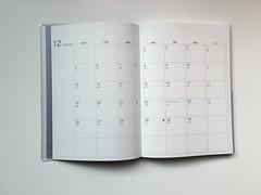 月記事,整個本子最早的時間點是從2016年12月開始@2017無印良品PVC封面滑順月週記事本 (in_future) Tags: muji 無印良品 月週記事本 週記事 記事本 行事曆 手帳 筆記本 note planner
