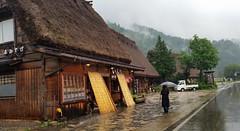 summer rain in shirakawa (dorinser) Tags: rain summerrain japan gifu shirakawa