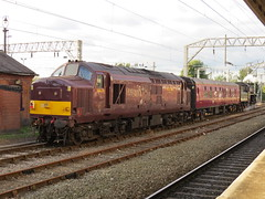 76084 TNT 37669 5Z79 Sheringham N N Railway - Carnforth Steamtown at Stockport 19/09/2016 (37686) Tags: milf porn porno ketytle class 37 railfreight ee type 3 brittania sex sexy naked lady blue tits 76084 tnt 37669 5z79 sheringham n railway carnforth steamtown 19092016