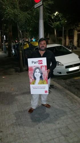 Trobada amb companys/es de Barcelona