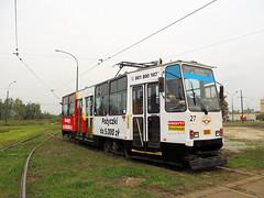 Konstal 105Na, #566, Tramwaje lskie (transport131) Tags: tram tramwaj bdzin t kzk gop konstal 105na zajezdnia depot
