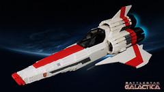 Viper Mark II (cmaddison) Tags: lego shiptember battlestargalactica space scifi syfy ship starfighter toy