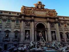 Trevi's fountain in Rome (jessicastravato) Tags: scultura sculpture marmo outside fontana famous history architettura big trevi urban city amazing architecture monuments water fountains italia italy rome roma