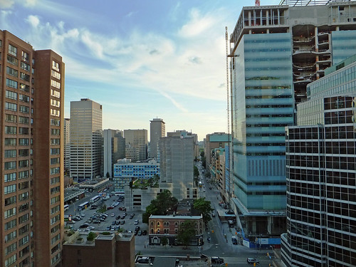 Toronto: A View Down Elm Street June 2012