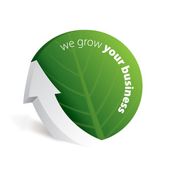 We Grow Your Business (DryIcons) Tags: up background grow business company arrow concept vector