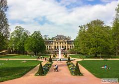 Orangerie zu Fulda (CraneArt) Tags: deutschland hessen schloss garten fulda barock schlossgarten orangerie