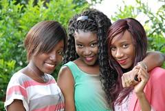 Friends (Ibrahim D Photography) Tags: pose african posing ebony prettygirls africangirls forburygardens ebonygirls beautifulafricangirls