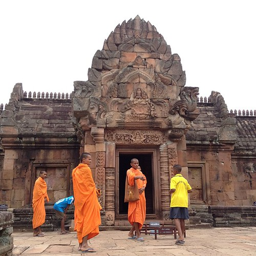 Tourist monks