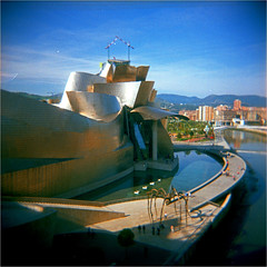 bilbao (thomasw.) Tags: bilbao baskenland spain spanien espana europe europa travel holga 120 mf cross crossed