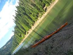 Kayak Camping on Dworshak Reservoir (Doug Goodenough) Tags: kaying sea touring lake reservoir dworshak summer 12 july 2012 perception essecnce 17 camping tent boat water paddle dent bridge freeman creek drg53112kaycamp drg531