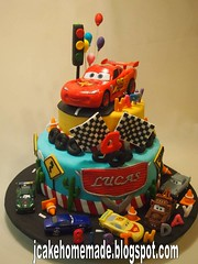 Lightning mcqueen birthday cake (Jcakehomemade) Tags: fun partycake designercake 4thbirthdaycake cakeforchildren partycelebration disneycarscake customizedcake carsbirthdaycake 3dbirthdaycake lightningmcqueenbirthdaycake cakeforboys wwwjcakehomemadeblogspotcom cakebyjessicalaw lucassbirthdaycake