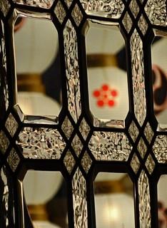 Gion Matsuri Through a Window