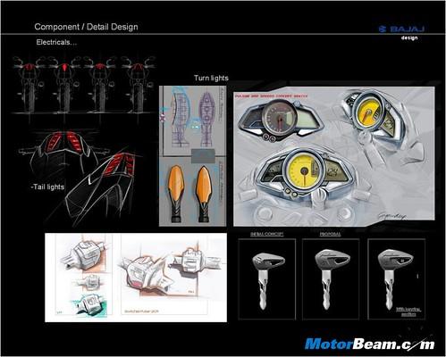 9. Pulsar 200NS - Detailing in Design - IV