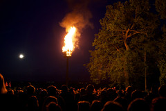 Beacon (Future-Echoes) Tags: people moon hot tree fire glow jubilee crowd flame beacon essex highlight beaconhill highlighted greattotham
