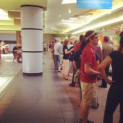Chick-fil-a line in Gadsden (abc3340weather) Tags: email
