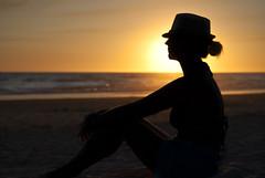 El ocaso en la playa (OK.Joaqun) Tags: puestadesol ocaso playas