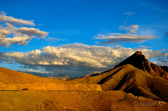 Ladakh (k gokul) Tags: blue sunset yellow landscape ladakh
