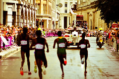 Go ahead (Alexandre Moreau | Photography) Tags: road portrait london race photography women photos kenya russia marathon victory effort ethiopia 2012 cheapside london2012 olypics jeptoo gelana wwwalexandremoreauphotocom petrovaarkhipova