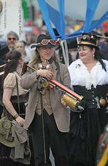 HASTINGS OLD TOWN CARNIVAL 2012: THE SHOOTIST (pg tips2) Tags: old carnival town punk gun rifle victorian steam parade weapon inventor hastings mad invention 2012 firearm steampunk hastingsoldtowncarnival2012 hastingsoldtowncarnivalparade2012 punkmyweapon