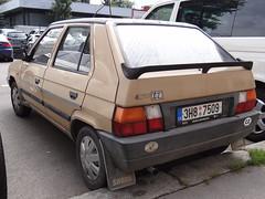 koda Favorit 136 (Skitmeister) Tags: auto classic car vintage czech prague prag praha praga voiture oldtimer skoda youngtimer pkw cesko carspot skitmeister