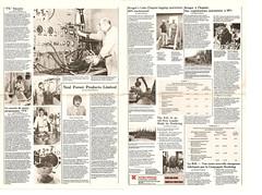 Koehring News Letter-1980 pg. 3-4 (The Koehring Guy) Tags: logging feller waterous kff forwarder koehring k4l k3ff