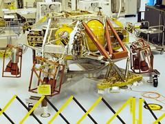 MSL Curiosity's Sky Crane @ KSC (MDLPhotoz) Tags: mars rover olympus science planetary ksc exploration robotics curiosity zuiko jpl labratory f3563 18180mm mdlphotoz zuikoed18180mmf3563
